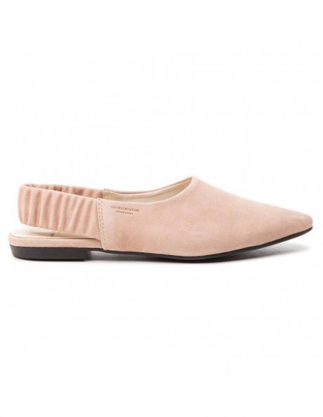VAGABOND sieviešu smilšu krāsas ādas apavi KATLIN