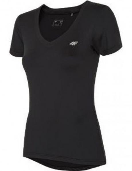 Melns sporta sieviešu krekls TSDF003 4F