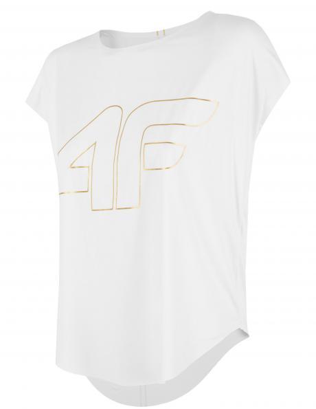 Balts sieviešu sporta krekls TSDF005 4F