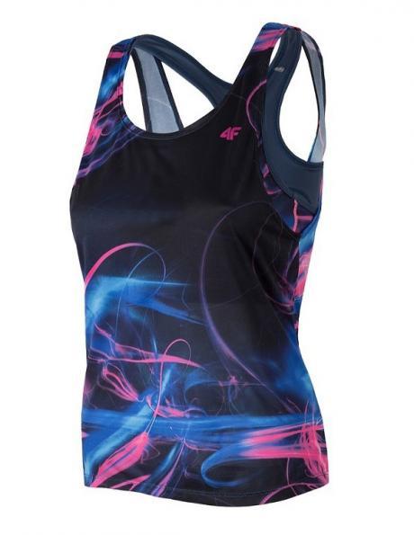 Zils sieviešu sporta krekls TSDF006 4F