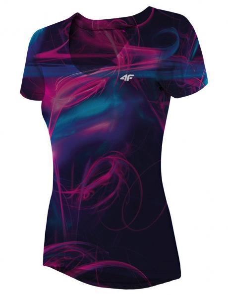 Krāsains sieviešu sporta krekls TSDF007 4F