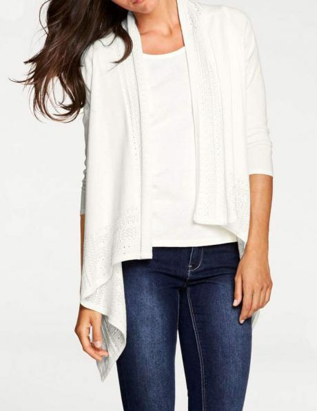 Balts džemperis ar blūzi PATRIZIA DINI