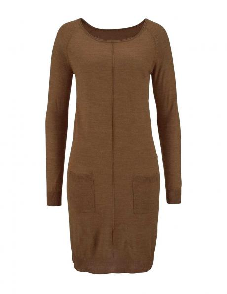 TAMARIS brūnas krāsas eleganta sieviešu kleita