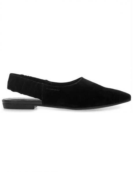 VAGABOND sieviešu melni ādas apavi KATLIN