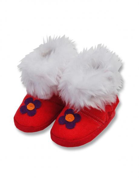 LAFEL bērnu sarkanas krāsas apavi