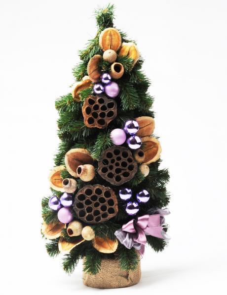 Dekoratīva Ziemassvētku eglīte, 50 cm PINUS