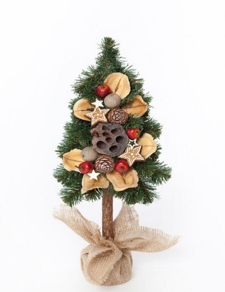 Dekoratīva Ziemassvētku eglīte, 65 cm PINUS