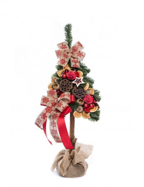 Dekoratīva Ziemassvētku eglīte, 80 cm PINUS