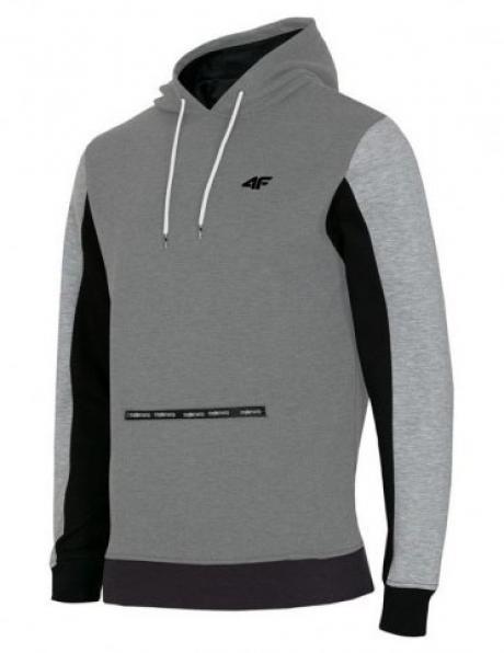 Pelēks vīriešu džemperis BLM008 4F