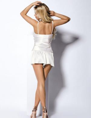 DKAREN baltas krāsas sieviešu pidžama Zala