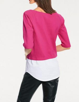 Rozā krāsas stilīga sieviešu blūze RICK CARDONA