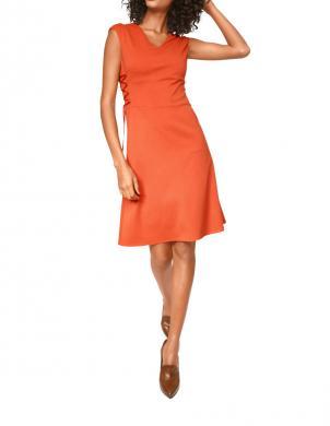 ASHLEY BROOKE oranžas krāsas stilīga sieviešu kleita