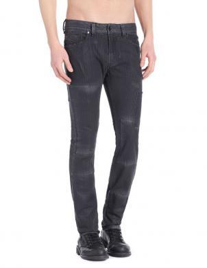 DIESEL vīriešu melnas krāsas džinsi