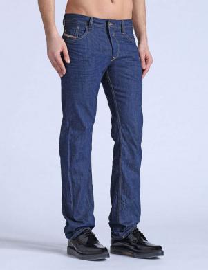 DIESEL tumši zilas krāsas vīriešu džinsi