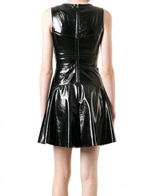 DIESEL sieviešu melnas krāsas kleita BASMA ABITO