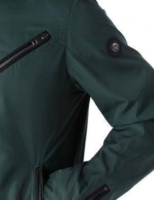 DIESEL vīriešu tumši zaļa viegla jaka J-EDGEA