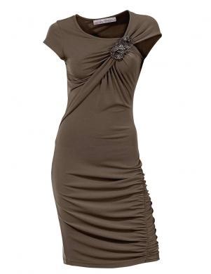Tumša eleganta kleita ASHLEY BROOKE