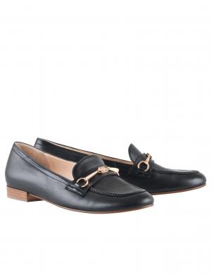 Sieviešu melni ādas apavi HOGL