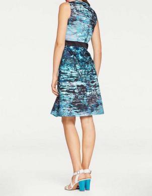 Zila krāsaina kleita ASHLEY BROOKE