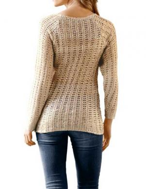 RICK CARDONA zelta krāsas sieviešu džemperis