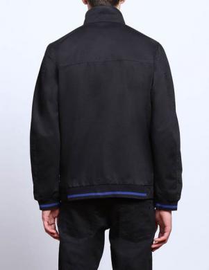 DIESEL melnas krāsas vīriešu kokvilnas veste
