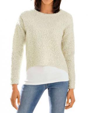 LINEA TESINI sieviešu krēmīgas krāsas džemperis