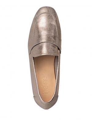 Zelta krāsas ādas apavi HEINE
