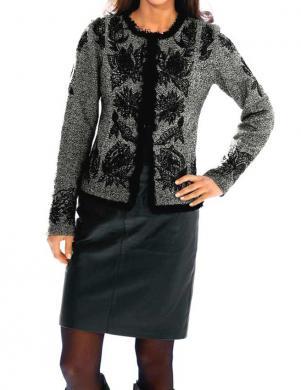 ASHLEY BROOKE pelēkas krāsas eleganta sieviešu jaka