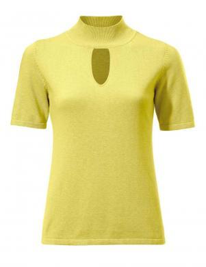 Dzeltenas krāsas  stilīga blūze PATRIZIA DINI