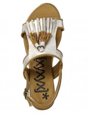 Zelta krāsas sieviešu sandeles XYXYX