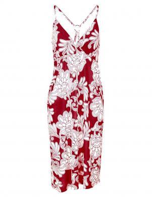 Sarkanas un krēmīgas krāsas skaista kleita HEINE - BEST CONNECTIONS