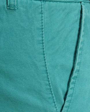 JACK&JONES zaļas krāsas stilīgi kokvilnas vīriešu šorti OREDWARD