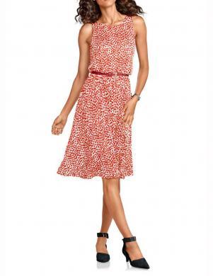 HEINE - BEST CONNECTIONS sieviešu koraļļu/baltas krāsas stilīga kleita