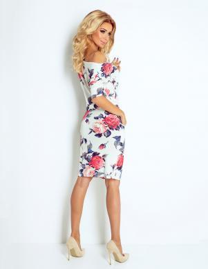 NUMOCO skaista puķaina sieviešu kleita