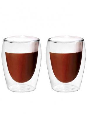 BORAL double 300ml stikla Cappuccino, 2 gab.