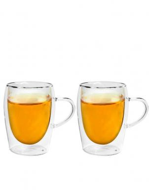 BORAL double 300ml stikla tējas krūzes, 2 gab