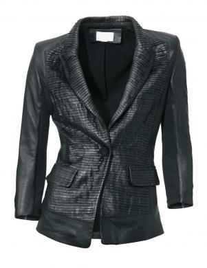 ASHLEY BROOKE ādas sieviešu jaka