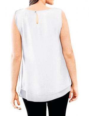 Baltas krāsas stilīga sieviešu blūze ASHLEY BROOKE