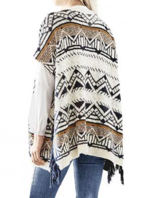 RICK CARDONA stilīga krāsaina sieviešu veste