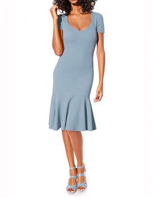 CLASS INTERNATIONAL zilas krāsas stilīga sieviešu kleita
