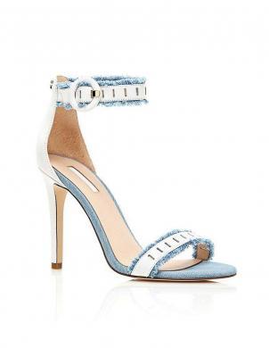 GUESS krēmīgas krāsas sieviešu augstpapēžu apavi