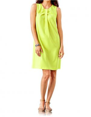 RICK CARDONA dzeltenas krāsas eleganta sieviešu kleita