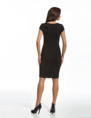 ENNY melna eleganta sieviešu kleita