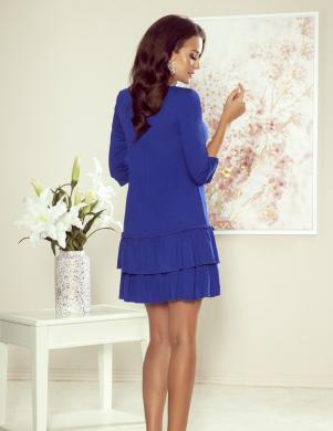 NUMOCO zila skaista kleita