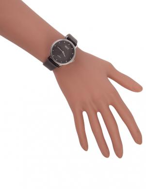 Sieviešu melnas krāsas pulkstenis