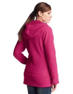 ADIDAS silts sieviešu rozā krāsas jaka ar rāvējslēdzēju