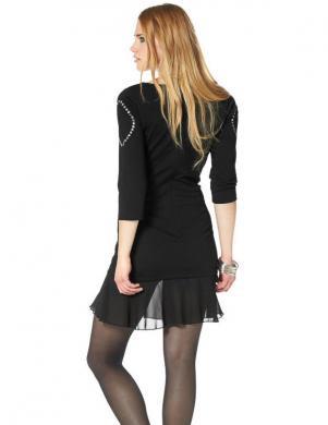 ANDRÉ BORCHERS FOR AJC melna sieviešu kleita