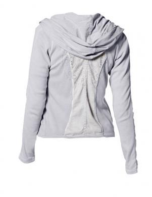 Pelēks brīva laika sieviešu džemperis TOM TAILOR