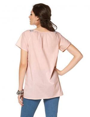 TAMARIS rozā sieviešu kokvilnas blūze