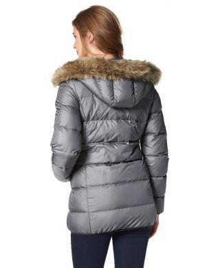 BOYSENS pelēkas krāsas stilīga sieviešu jaka